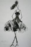Lycklig klänning Arkivbilder