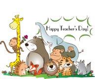 Lycklig läraredag Royaltyfri Fotografi