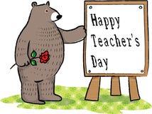 Lycklig läraredag Fotografering för Bildbyråer