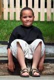 lycklig latino för pojke royaltyfri bild