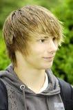 lycklig le tonåring Fotografering för Bildbyråer