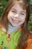 lycklig leendefjäder Royaltyfria Bilder