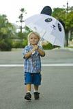 lycklig litet barn Arkivfoton