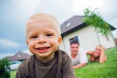 lycklig livstid för barn royaltyfri bild