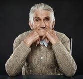 lycklig manpensionär Fotografering för Bildbyråer