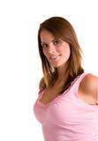 lycklig modell fotografering för bildbyråer