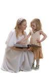 lycklig moder royaltyfria bilder