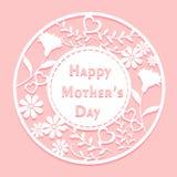 lycklig moder för dag vektor illustrationer