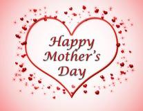 lycklig moder s för bakgrundsdag Royaltyfri Fotografi
