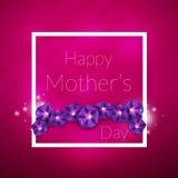 lycklig moder s för dag Arkivfoton