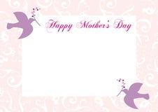 lycklig moder s för dagram Arkivbilder