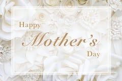 lycklig moder s för kortdag Arkivfoton