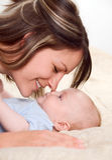 lycklig mom Royaltyfria Foton