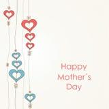 Lycklig mors dag vektor illustrationer
