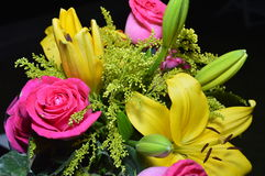 Lycklig mors dag! kortbegrepp Arkivfoton