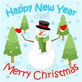 lycklig ny year2 royaltyfria bilder