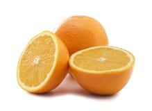 lycklig orange Arkivbilder
