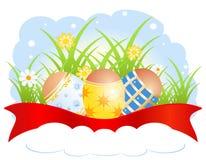 Lycklig påsk! Royaltyfri Illustrationer