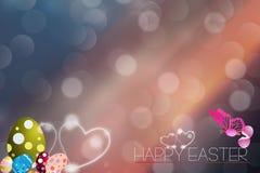 Lycklig påsk för förälskelse Arkivbild