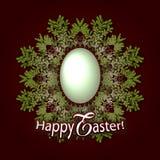 Lycklig påsk! - kort vektor illustrationer