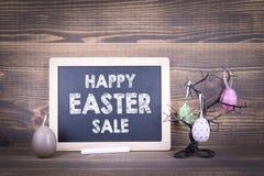 Lycklig påsk Sale Abstrakt ferie- och vårbakgrund Royaltyfria Foton