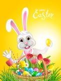 Lycklig påsksamling Royaltyfri Fotografi