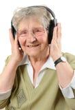 Lycklig pensionär Royaltyfria Bilder
