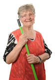 Lycklig pensionär Arkivbilder