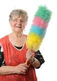 Lycklig pensionär Arkivfoton
