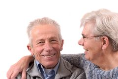 lycklig pensionär för par fotografering för bildbyråer