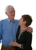 lycklig pensionär för par Royaltyfri Bild
