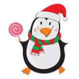 lycklig pingvin Arkivfoton
