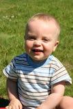 lycklig pojke little Royaltyfri Foto