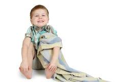 lycklig pojke little Arkivbilder