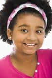 lycklig preteen för flicka Royaltyfri Fotografi