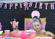 lycklig princess för födelsedag Royaltyfri Fotografi