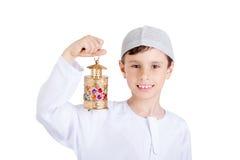 Lycklig Ramadan arkivbilder