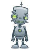 lycklig robot Arkivbilder