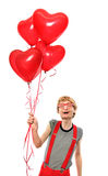 lycklig s-valentin arkivbilder
