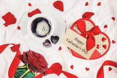 lycklig s valentin för dag Förälskelse Arkivfoton