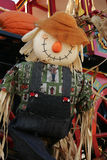 lycklig scarecrow Royaltyfria Bilder