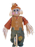 lycklig scarecrow Royaltyfri Bild