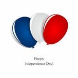 lycklig självständighet för dag Royaltyfria Foton