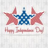 Lycklig självständighetsdagen! Royaltyfri Foto