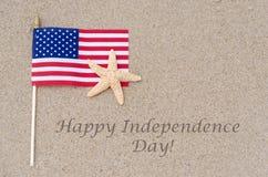 Lycklig självständighetsdagenUSA bakgrund Royaltyfri Bild