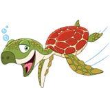 lycklig sköldpadda Royaltyfri Foto