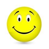 lycklig smiley Fotografering för Bildbyråer
