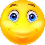 Lycklig smileytecknad film royaltyfri illustrationer