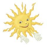Lycklig sol Royaltyfri Foto