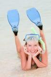 lycklig sommarsemester Royaltyfria Bilder